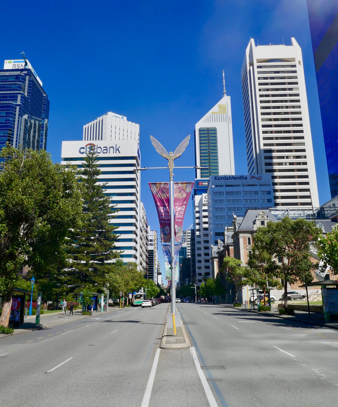 WA Final Reflections St. George's Terrace Perth