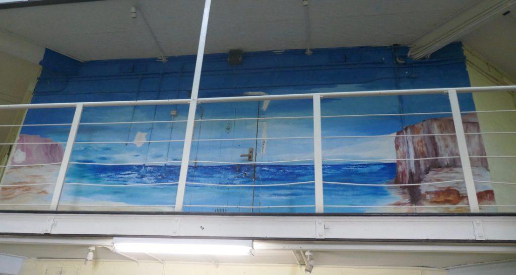 Return to Perth – Fremantle and Dining on top of the World Fremantle Prison - Prisoner artwork