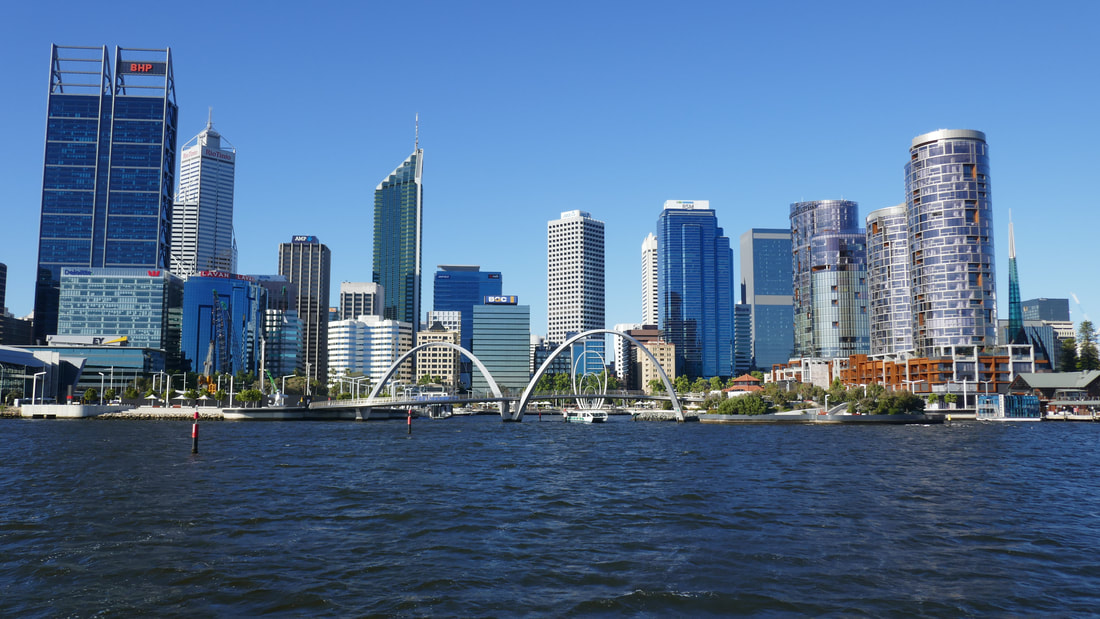 Perth - view from the Captain Cook Cruise