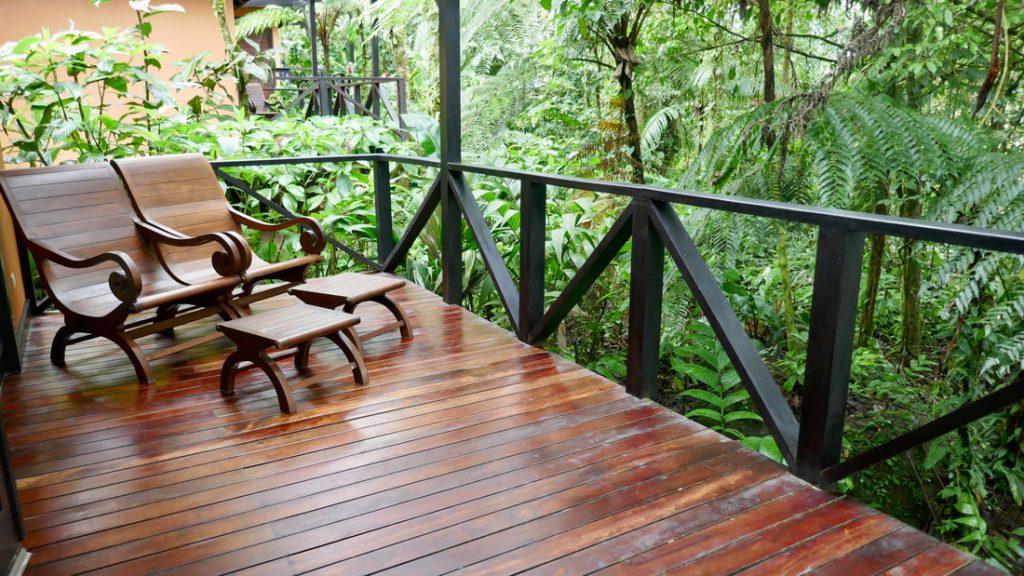 Rio Celeste Hideaway Hotel Costa Rica Balcony