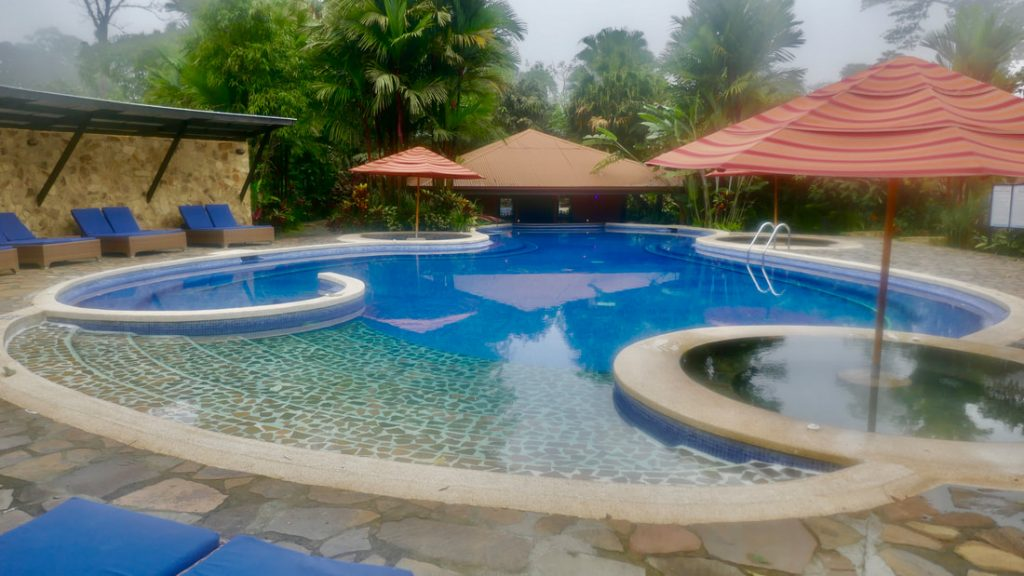 Rio Celeste Hideaway Hotel Costa Rica Pool