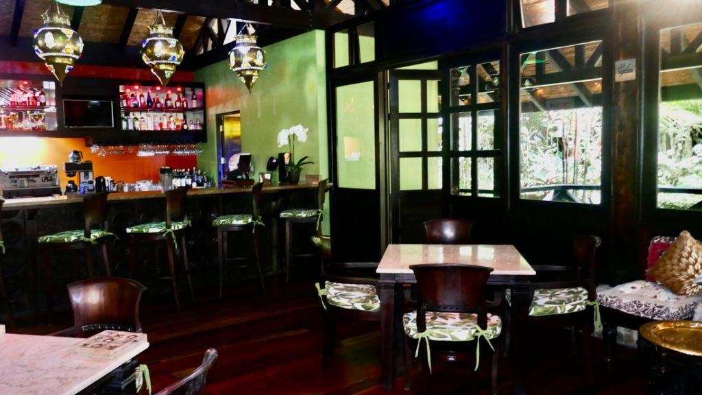 Rio Celeste Hideaway Hotel Costa Rica Bar Area