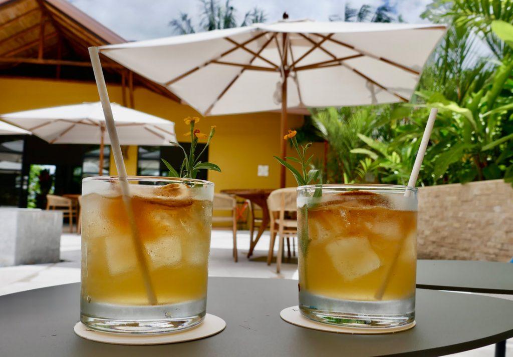 Nayara Resort Costa Rica Welcome Drinks