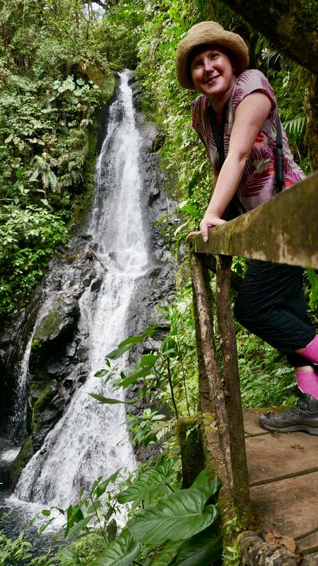La Promesa Waterfall El Silencio Lodge Costa Rica Waterfalls