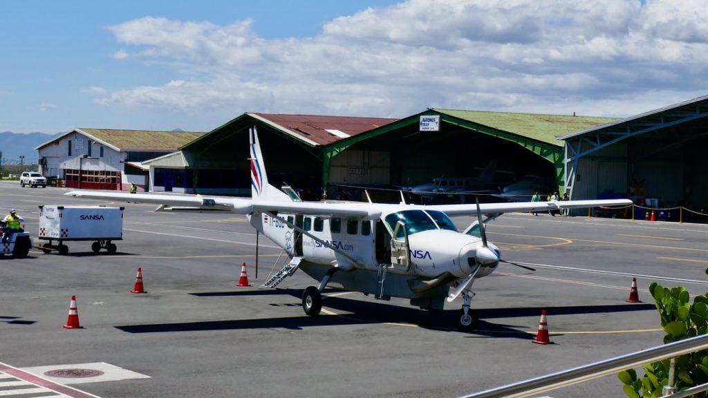 Bajos del Toro to Osa Peninsula Costa Rica - Domestic flight