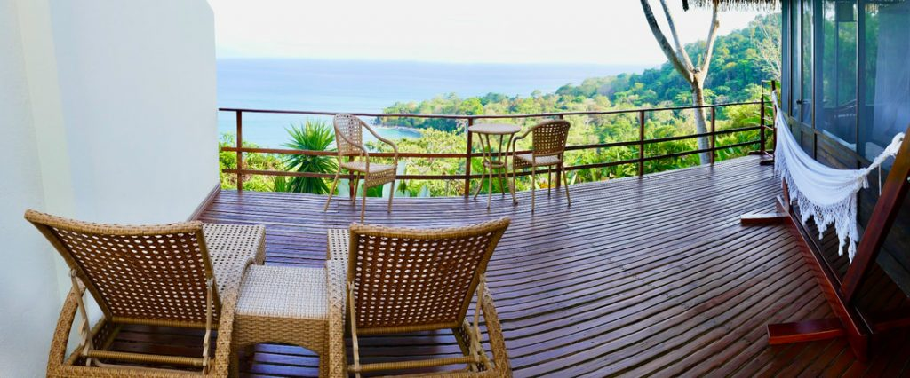 Lapa Rios Eco Lodge Costa Rica Terrace