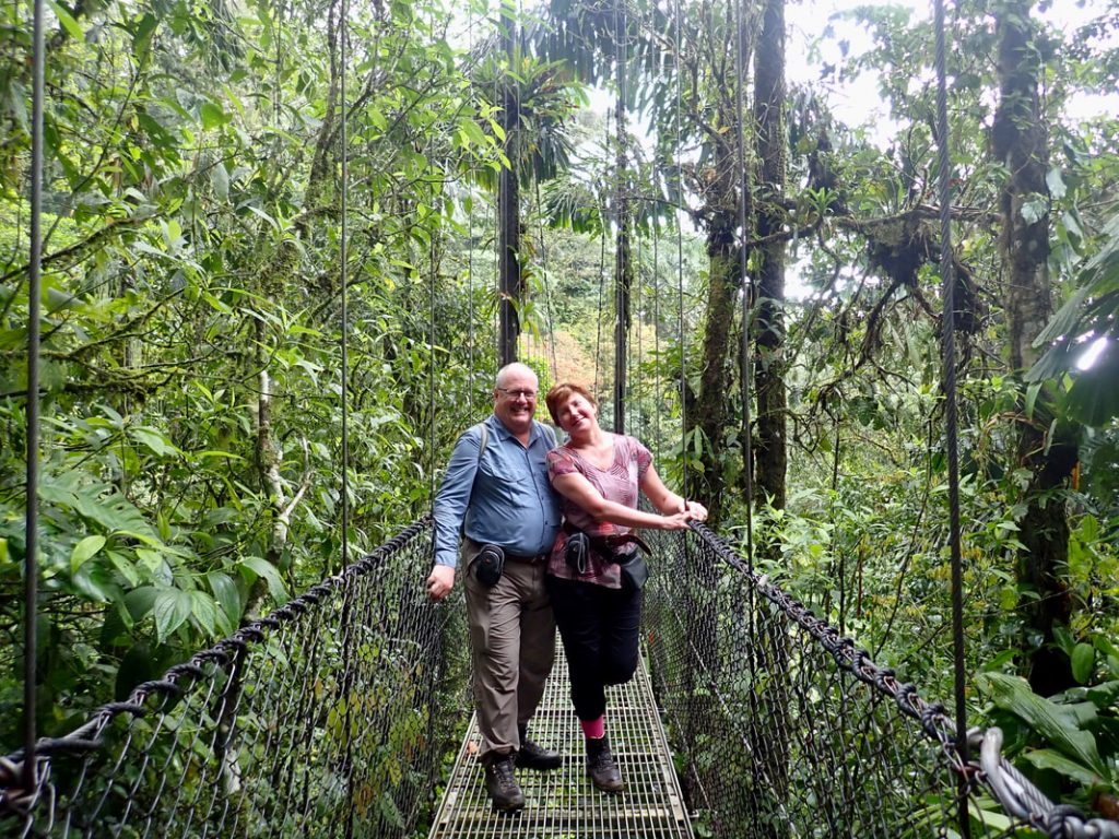 Arenal Volcano National Park Costa Rica Hanging Bridges Trail
