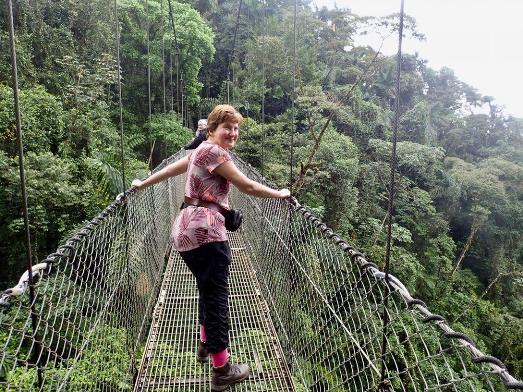 Arenal Volcano National Park Costa Rica Hanging Bridges Trail