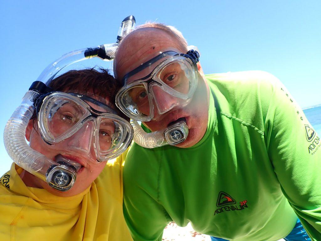 Exmouth to Carnarvon Sal Salis WA - Snorkelling