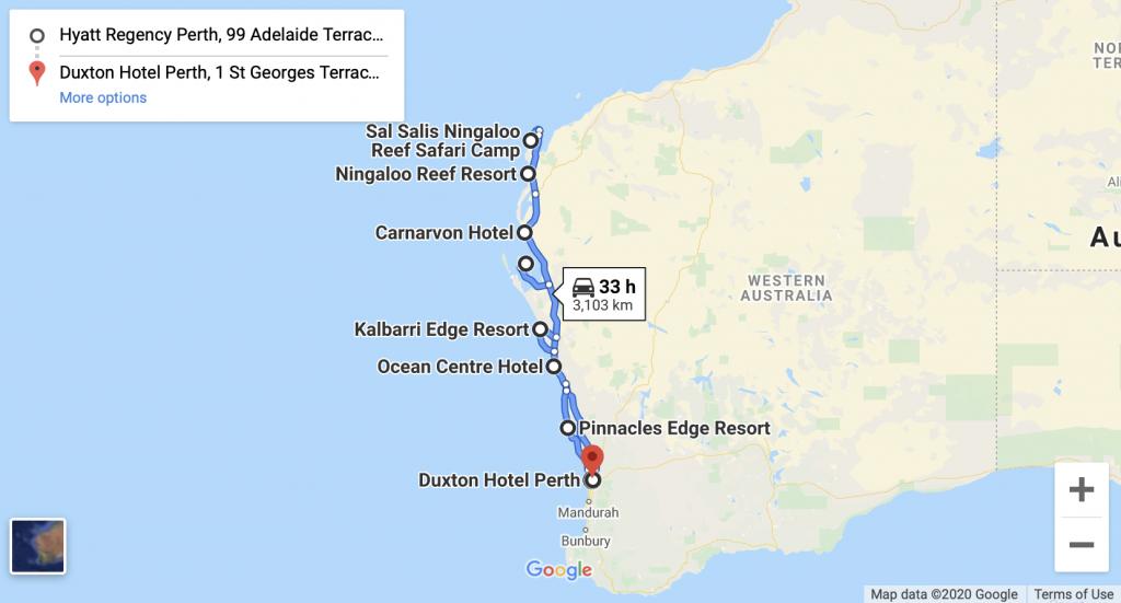 Western Australia Itinerary Australasia