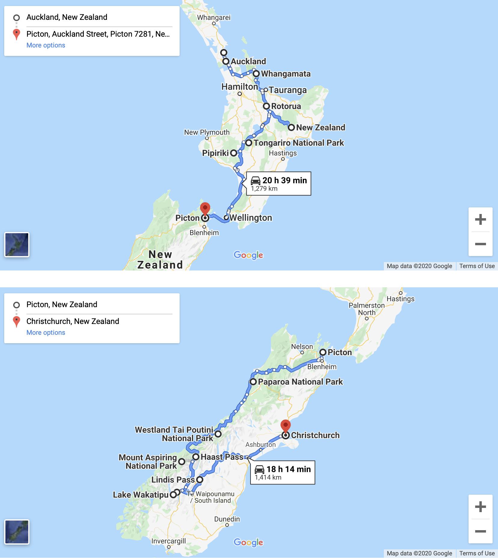 4 week Self-Drive New Zealand Road Trip Itinerary