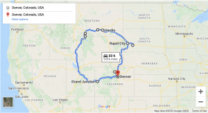 Yellowstone 3 Week Road Trip Itinerary from Denver