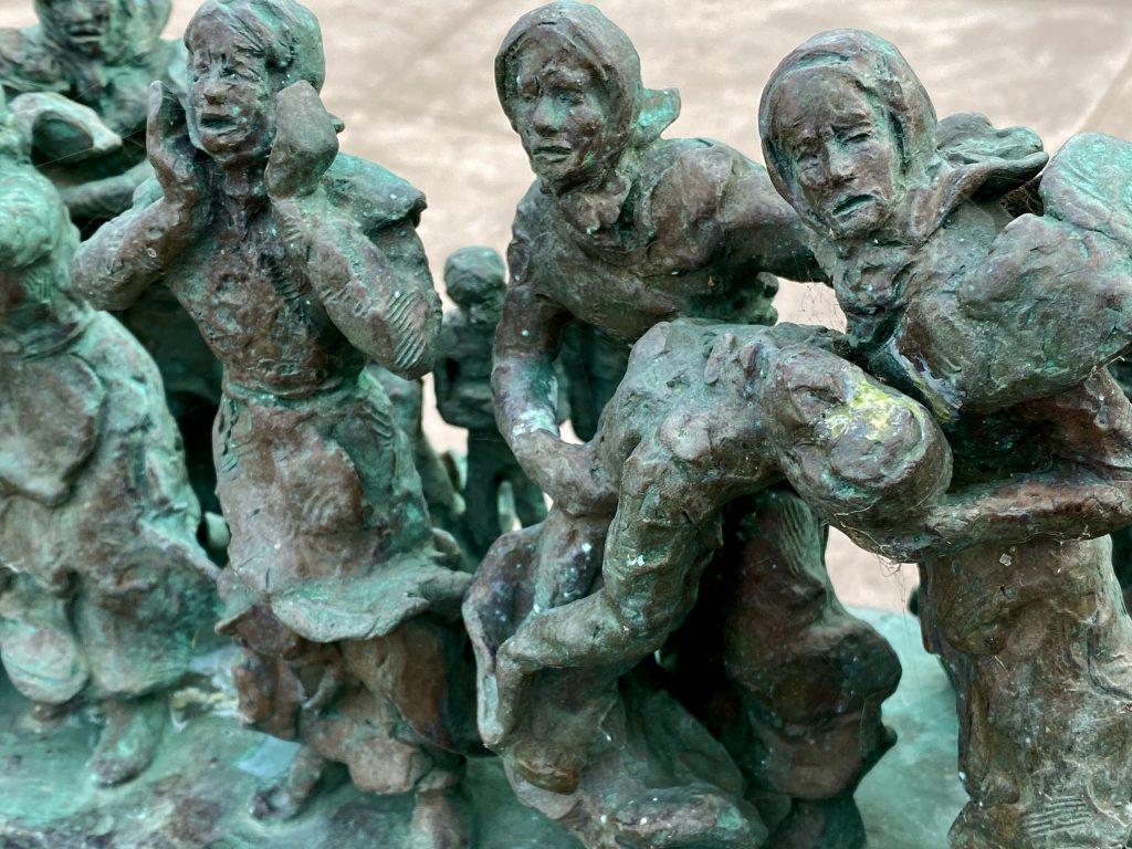 Eyemouth Widows and Bairns Sculpture