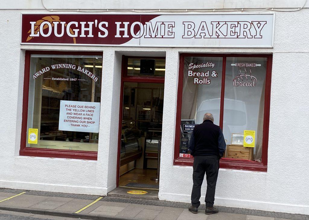 Eyemouth Northumberland - Lough's Bakery