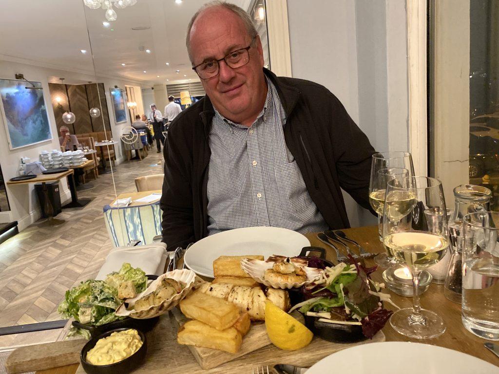 Greenbank Hotel Seafood Platter