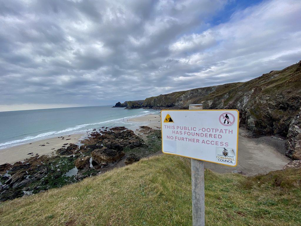 Steps to Pentreath Beach - Shut