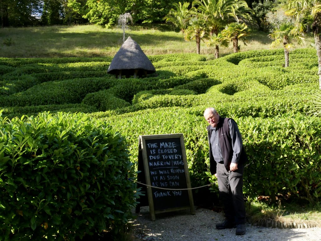 Glendurgan Gardens Maze