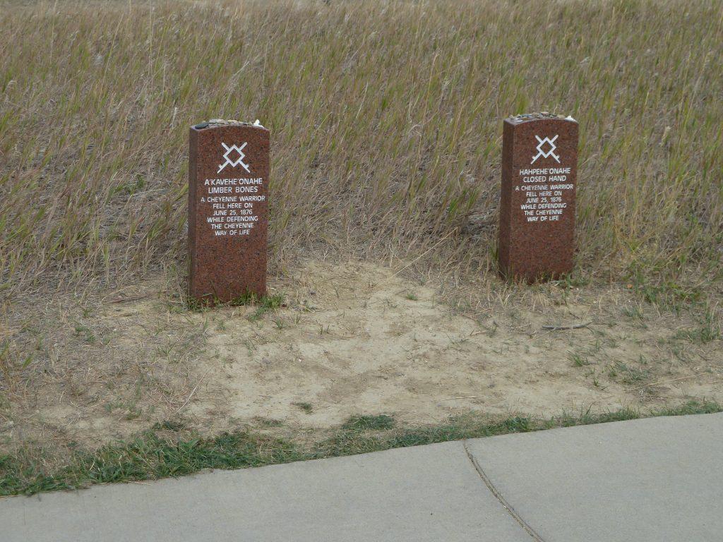 Battle of the Little Bighorn Indian Graveyard