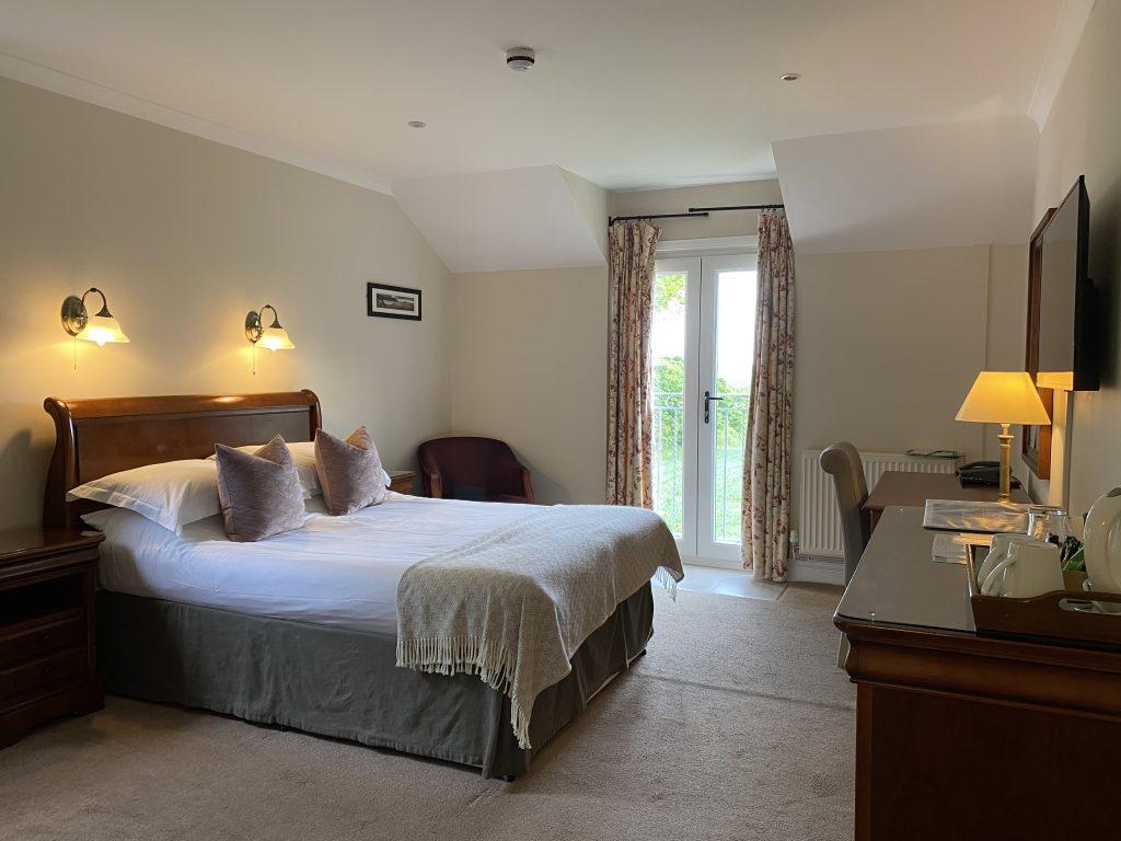 The King Arthur Hotel Reynoldston Bedroom