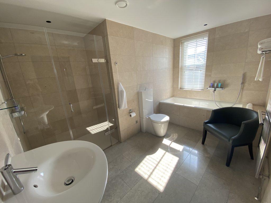 Twr y Felin Hotel - Bathroom