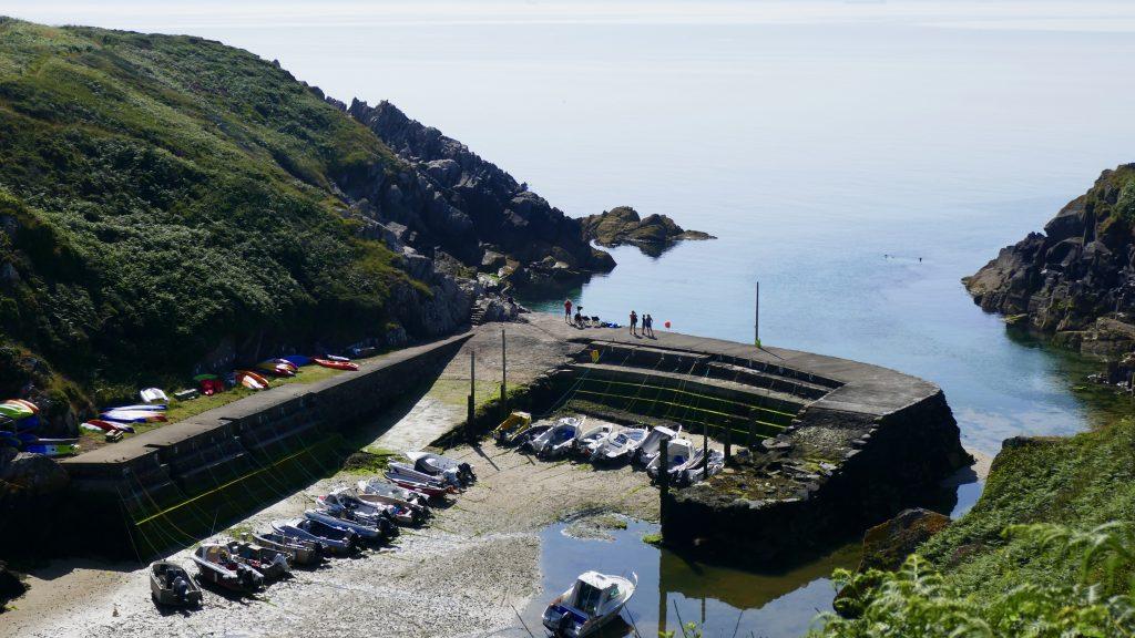 North Pembrokeshire Coastal Path Porthclais Harbour