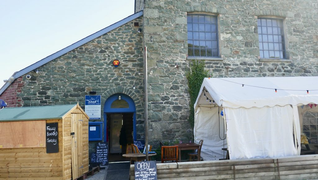 Porthgain The Shed Bistro