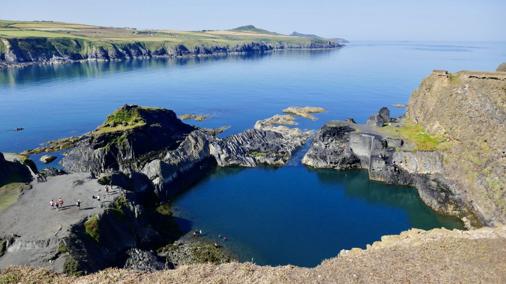Coasteering The Blue Lagoon North Pembrokeshire