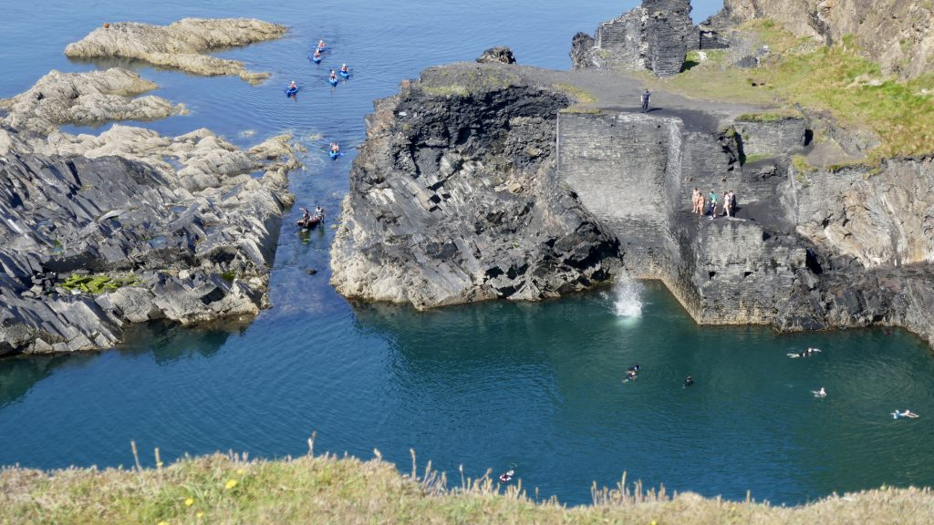 Coasteering The Blue Lagoon Abereiddy