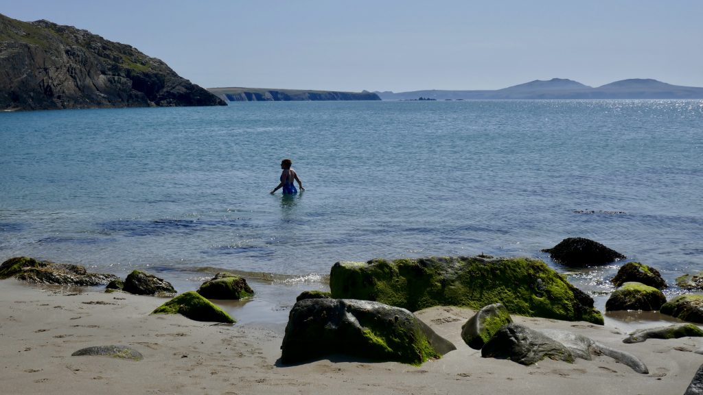 Coasteering Porthmelgan Beach
