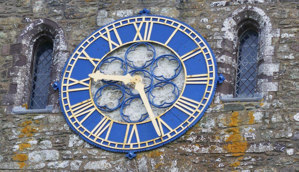 St. David's Peninsula St David's Cathedral Clock