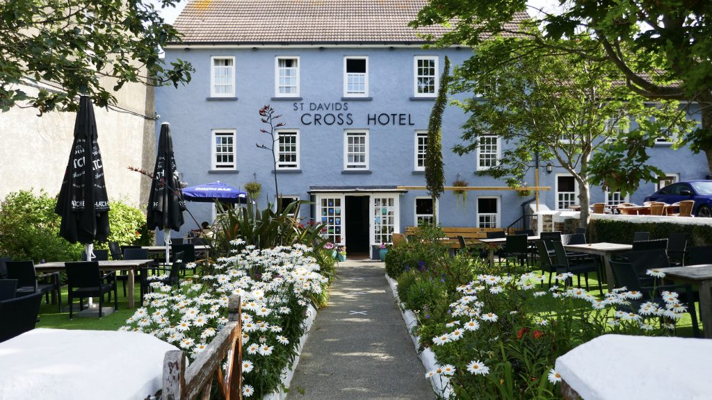 North Pembrokeshire Coastal Path - St. David's Cross Hotel