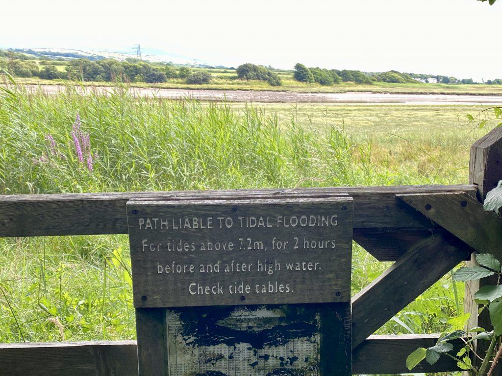 Ravenglass - Coastal Walk Tide Times