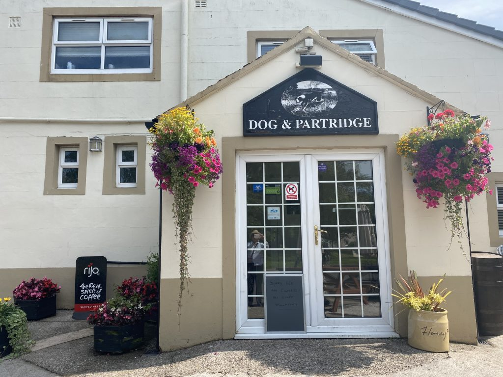 St. Bees - Dog & Partridge Pub - Sandwith