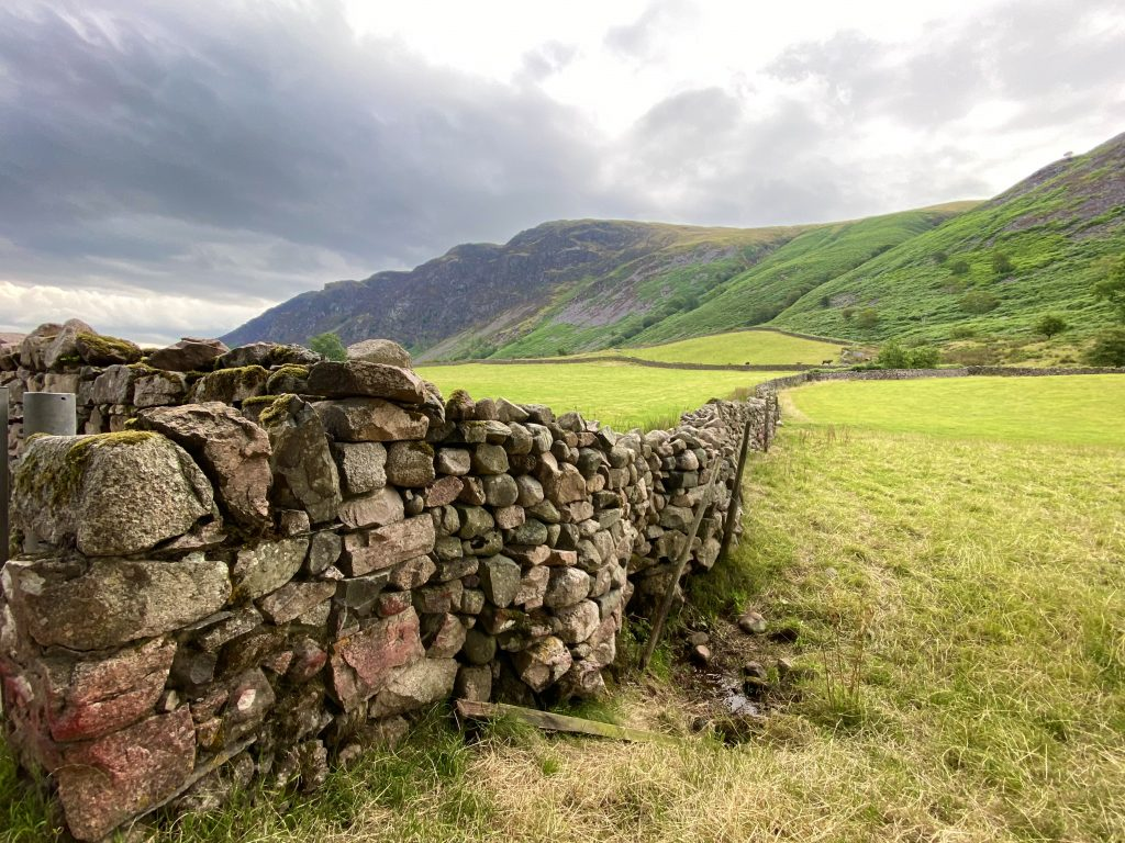 Wastwater Dry Stone Wall