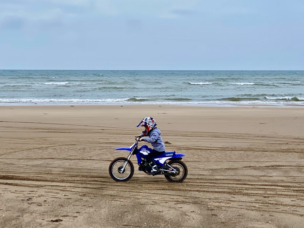 Wastwater Drigg Beach Biking