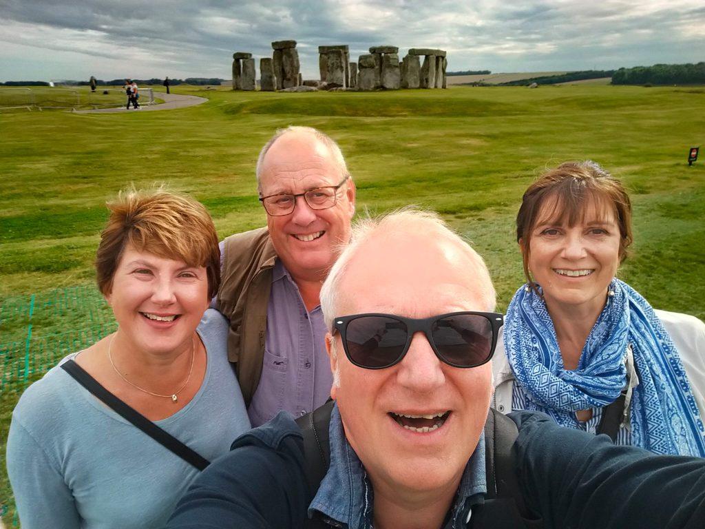 Salisbury Stonehenge Selfie