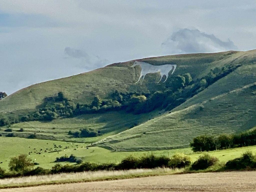 Wiltshire Bratton Camp White Horse