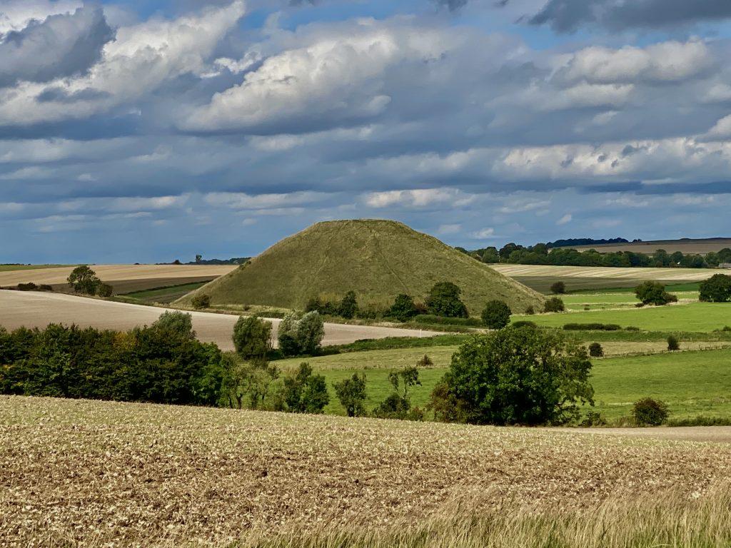 Enigmatic Wiltshire Silbury Hill