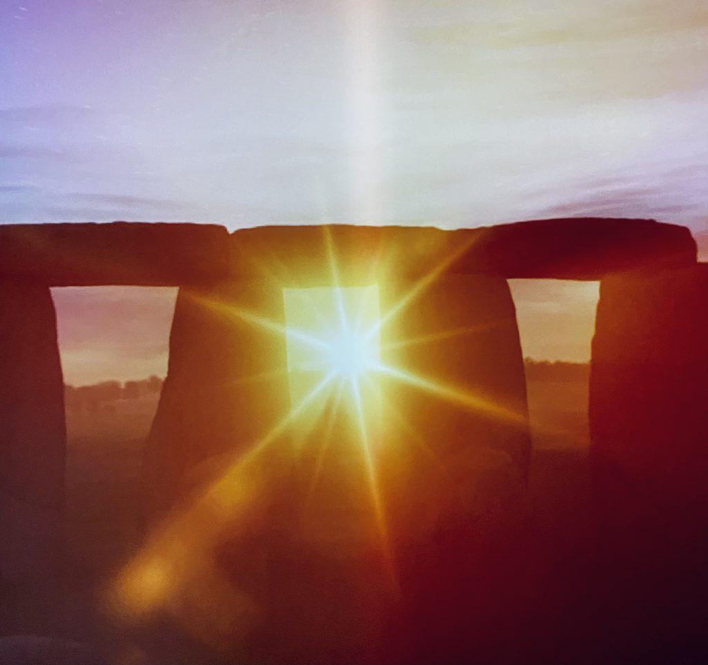 Salisbury Stonehenge Winter Sunrise